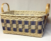 Digital Download, Instructions to Weave the Checkerboard Storage Basket, Pattern