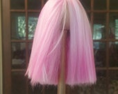 Cotton Candy Pink Wig 6/7 MSD