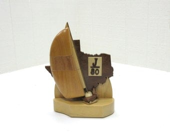Vintage Trophy Sailing Trophy Nautical Trophy Regatta Trophy