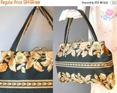 30%OFF 1930s Floral Purse / Haberdashary Purse / 30s