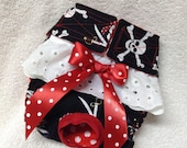 Female Dog Diaper Pet Wrap  Doggie Panties Skirt Size XSmall To XLarge Girl Pirate