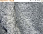 ON SALE NOW Gray Mix Faux Fur Craft Size