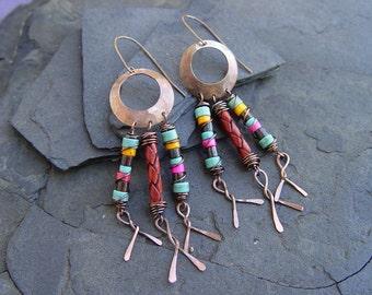 Catch A Dream Tribal Earrings