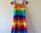 Girls size 10 tie dyed maxi dress