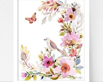 Art Print Flora