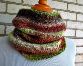 Noro Merino Silk Cowl Neckwarmer Fall Winter Accessory