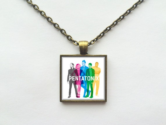 Pentatonix - Pentatonix Album Cover Necklace or Keychain