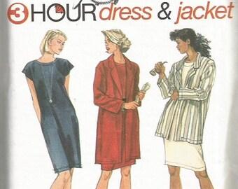 Simplicity 9411  Misses Dress & Jacket Pattern   SZ 12-16     CLEARANCE ITEM