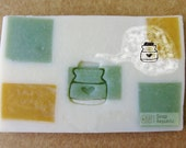 Made with Love mason jar / Acrylic Soap Stamp ( Soap Republic )
