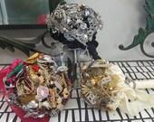 3 Custom Brooch Decor Bouquets
