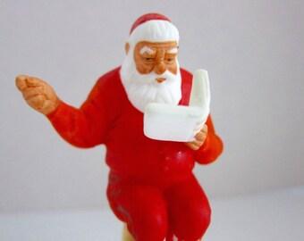 Christmas Decor Christmas Figurine Vintage Christmas Vintage Santa Norman Rockwell Santa Claus Christmas Tree Ceramic Santa Girl or Boy AU5
