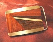 Husband Gift Idea - Wood Belt Buckle, Handcrafted Gift for Men Gifts for Husband BB84