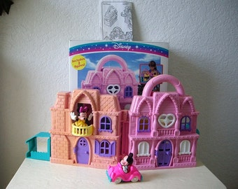 Disney Simply Charming Minnie Play House, Complete in box. Never played with, 1990s