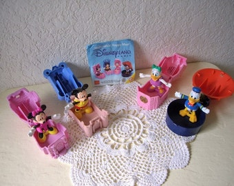 Disney Land Paris,  McDonald Happy Meal Toy Set, 1996.