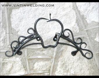 Hand Forged Iron CUSTOM Design Hose Reel by VinTin (Item# G-702)