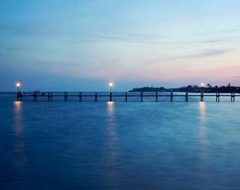 Islamorada Sunset - 8x10 Fine Art Photograph, Florida, Ocean, Atlantic, Vacation, Travel Photography