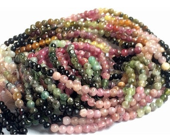 51% ON SALE Multi Tourmaline Beads - Multi Tourmaline Plain Rondelle Beads, 2.5mm Multi Tourmaline Beads, 15 Inch Strand, Tourmaline Gemston