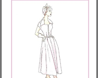"""PDF Download """"One Day"""" a LivelyStitch Design sewing pattern for the 18"""" Kitty Collier by Tonner"""