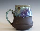 Coffee Mug, 24 oz, ceramic cup, handthrown mug, stoneware mug, pottery mug, unique coffee mug, ceramics and pottery