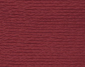 DMC 3858 medium rosewood 100% long staple Egyptian cotton thread for embroidery 8m long