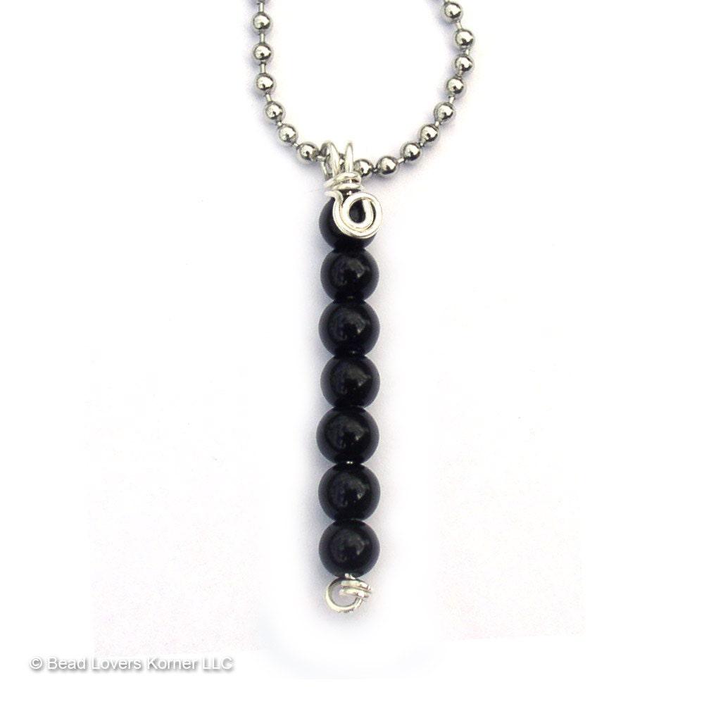 black obsidian necklace emf protection