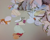 Heart Confetti from Winnie the Pooh Book Over 500 Punches - Rippy Bits by TangoBrat Ready to Ship