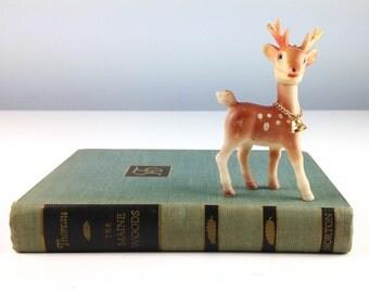 Vintage Plastic Deer, Rudolph the Red Nosed Reindeer