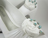 Shoe clips - bride - wedding - bridal accessory -  SHOES NOT INCLUDED