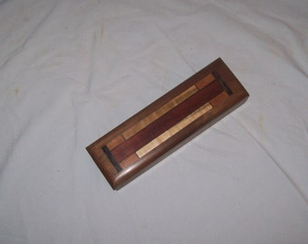 Wanut Pencil Box  Jewelry Box Watch Box Keepsake Box Handmaid .