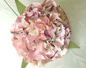 book page paper flower pink carnation  can be Jane Austen Harry Potter Jane Eyre any book