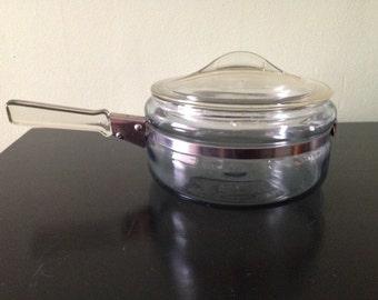 Rare Vintage 1950s Pyrex Sauce Pan 7323 B