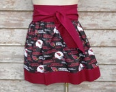 ARIZONA CARDINALS Football  Gameday tailgate Gathered  Spirit flirty  Skirt *You Choose  size*