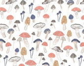 Foraging for Funghi in Multi  524 - FOXTAIL FOREST  by Rae Ritchie - Dear Stella Design Fabric - By the Yard