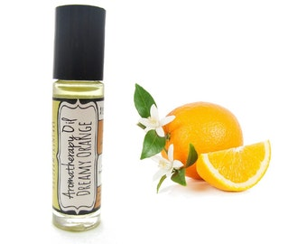 Vanilla Orange Natural Perfume Oil Aromatherapy Essential Oil Roll On Vanilla Orange Natural Perfume