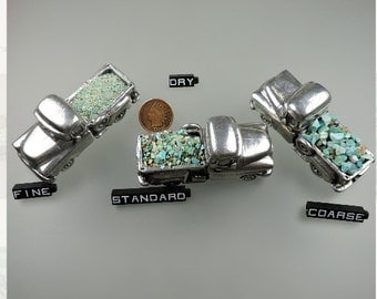 Turquoise Southwestern Blend Hand Crushed Inlay for Artists (1 pound #29) from 49erMinerals, free U.S. shipped
