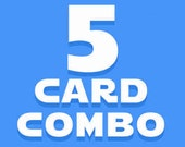 5 Card Combo Pack!