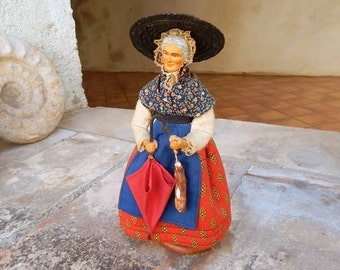 French Vintage 'Santon'  French Provencal Figure