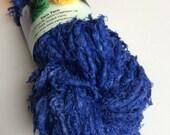 Super bulky cotton yarn made from colourful recycled cotton threads. 5 yards. Ethical yarn, chunky yarn, knitting yarn, weaving, crochet.