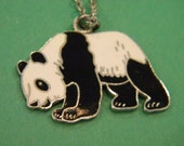 Metal Panda Necklace