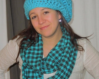 Quick slouchy hat PDF Crochet slouchy hat pattern chunky crochet pattern 202