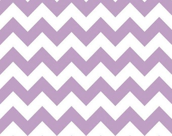 Riley Blake Chevron - Lavender - Medium - 23 inches