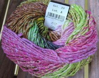 BULKY Weight Yarn - Noro Obi (#23) - 100g / 175 yards - Wool Silk Mohair
