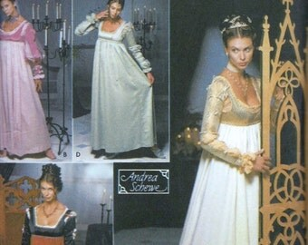 Simplicity Renaissance Dress Costume Sewing Pattern 9531 Size 14, 16, 18 and 20 UNCUT Medieval SCA