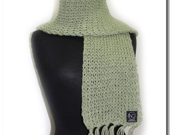 Knitting Board scarves