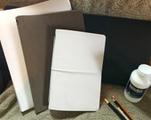 Art journal-large white