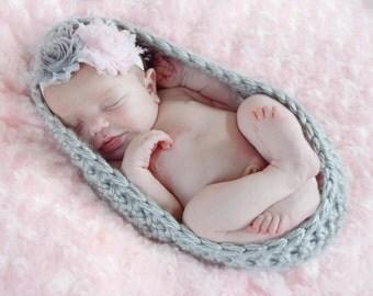 Newborn cocoon, newborn photo prop, baby cocoon, newborn pod, crochet cocoon, baby nest, newborn bowl, newborn photography props