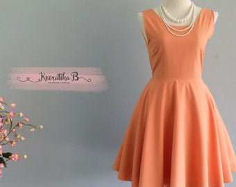 Party Angel Dress Dusty Orange Backless Party Dress Orange Backless Dress Dusty Orange Prom Party Wedding Cocktail Bridesmaid Dresses XS-XL