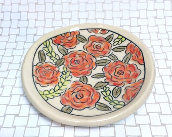 Floral Dishes: Rosette