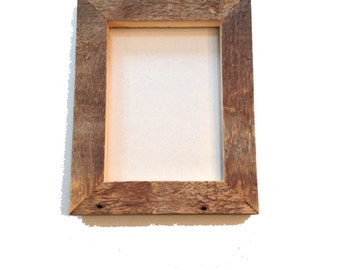 Genuine Handmade Old Vermont Barn Board Picture Frame 5x7