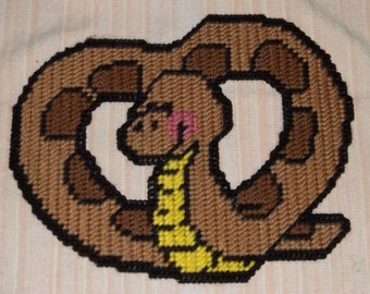 Valentine Snake Plastic Plastic Canvas Pattern